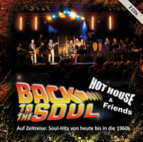 Cover CD BacktoSoul Band Hot house