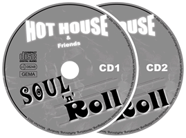 CD-Label Soul n Roll Band Hot house