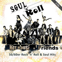 Cover CD Soul n Roll Band Hot house