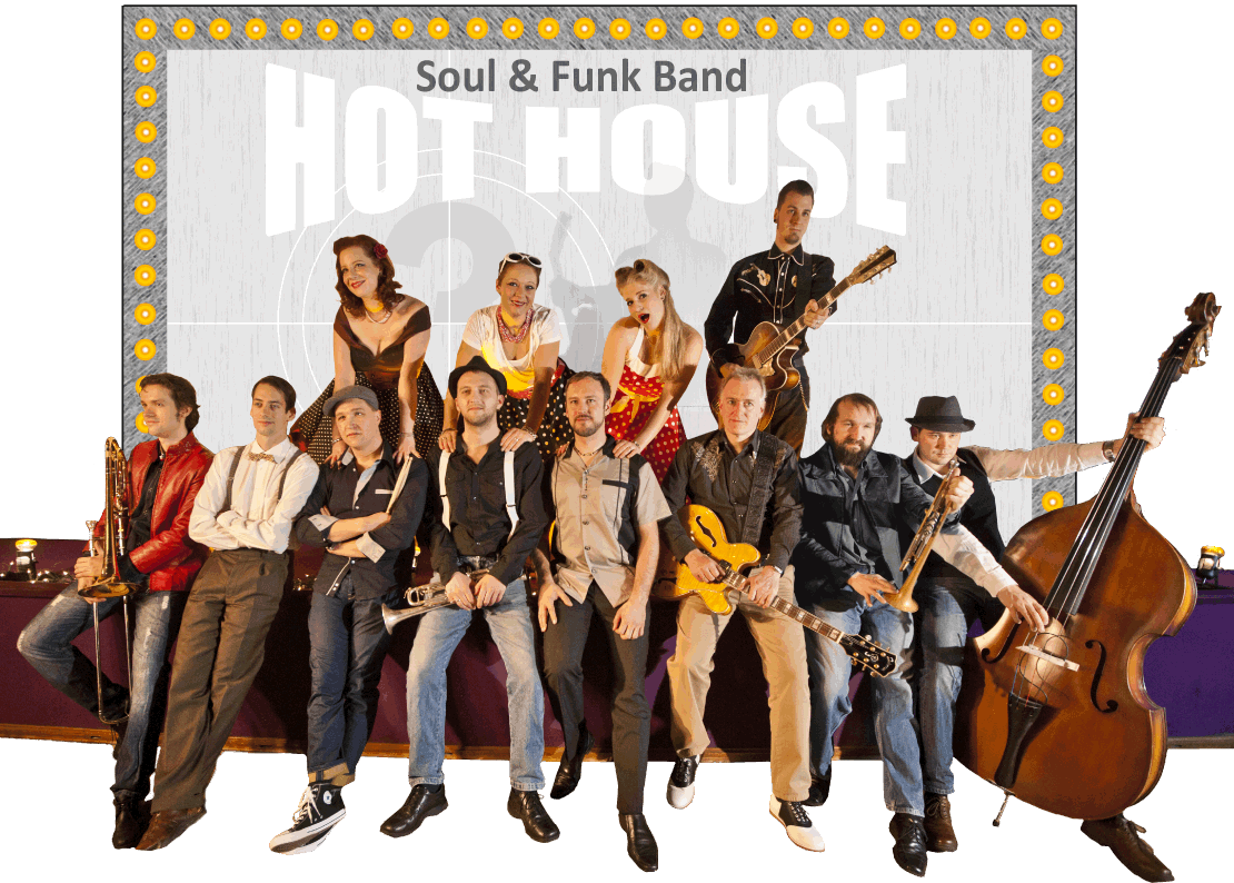 Hot House Bandfoto 2014