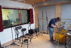 Studioaufnahme April 2009 Hauptaufnahmeraum